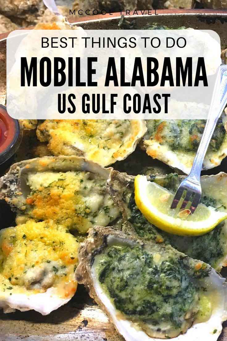 Things to do in Mobile Alabama include remarkable restaurants, cool museums, fun outdoor adventures, gorgeous oaks, oldest US Mardi Gras, and more.