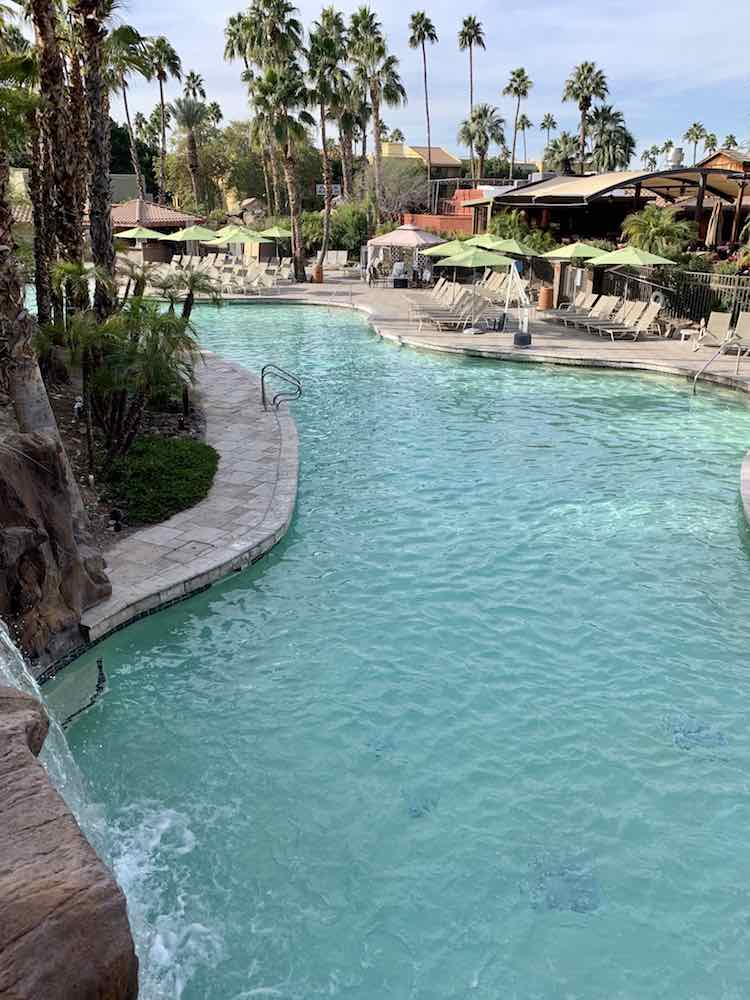 pool area at Pointe Hilton Squaw Peak
