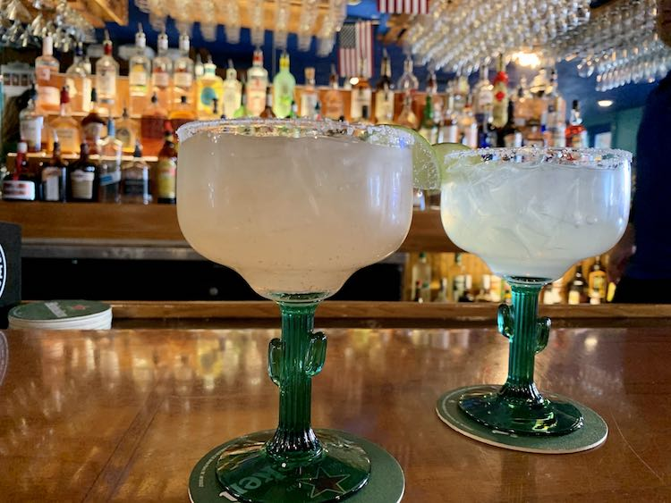 $3.50 margaritas at Sea Critters
