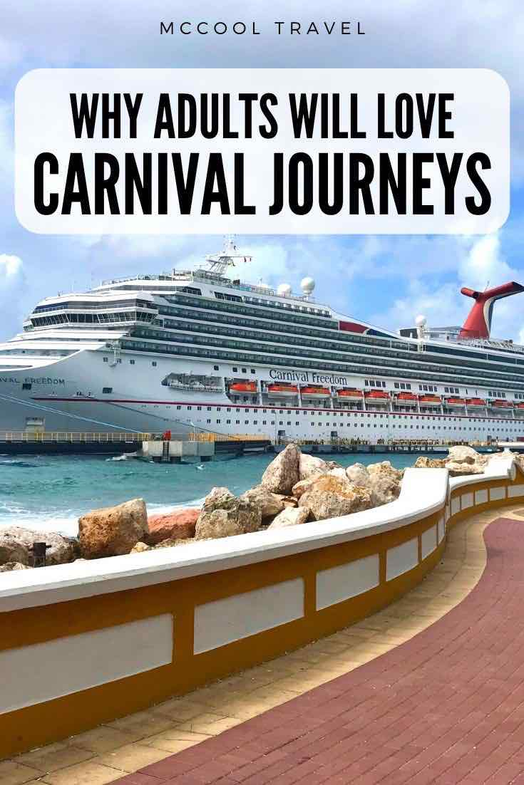 Carnival Journeys sailings are a unique subset of Carnival Cruises offerings that are ideal for adult passengers and those interested in deeper, more rewarding, and immersive cruising experiences
