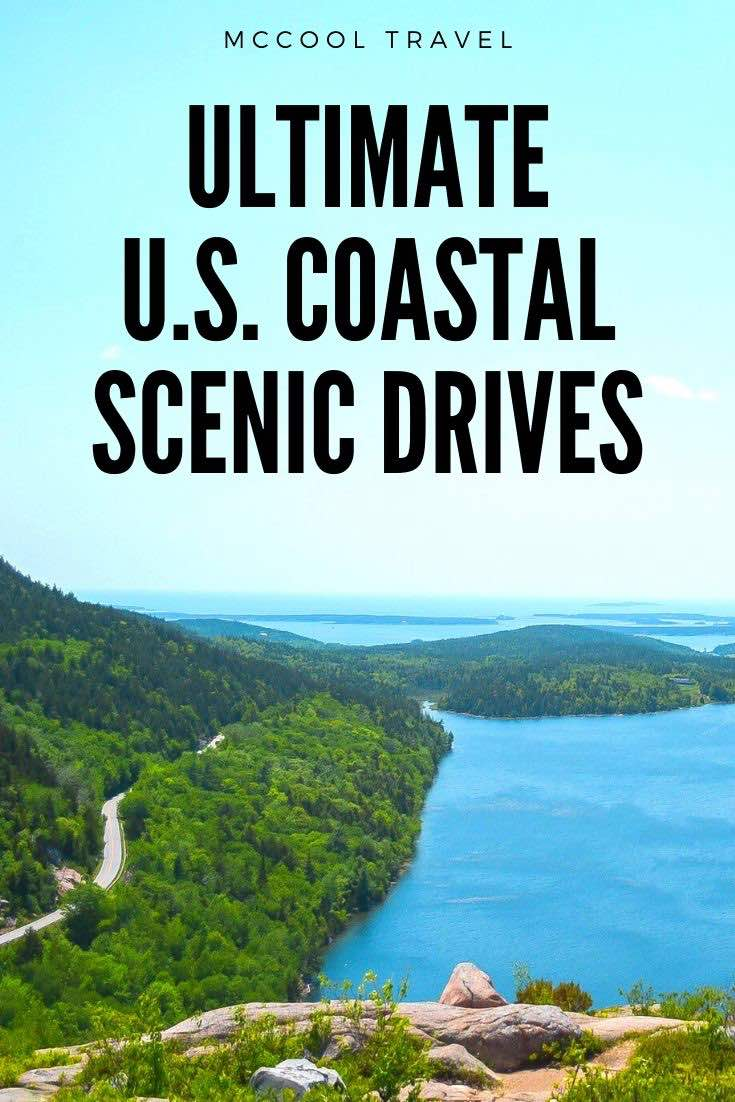 Explore the best coastal US scenic drives that deliver epic water views and beach access on popular and lesser known US road trips.