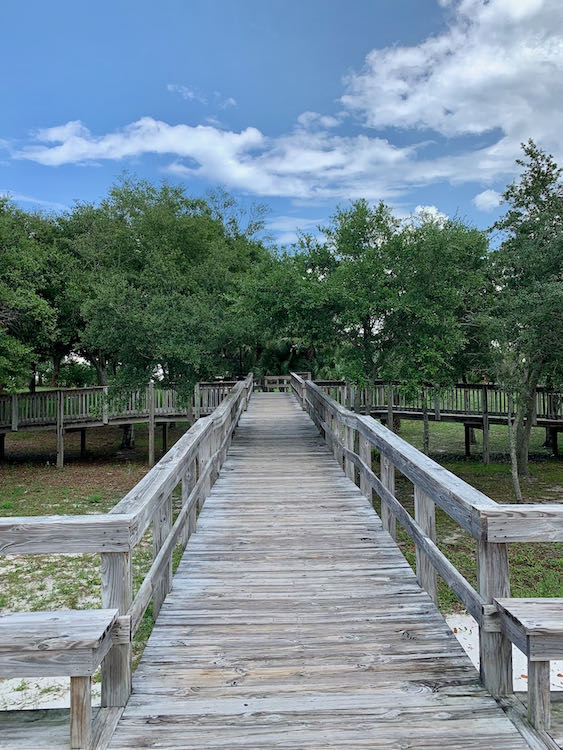 Oaks by the Bay Park is a Florida Panhandle waterfront hidden gem