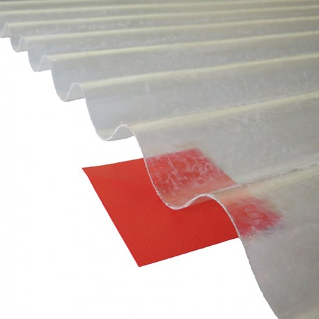 Plaque Polyester Ondulee Toit Translucide Petites Ondes Po 76 18 Pas Cher
