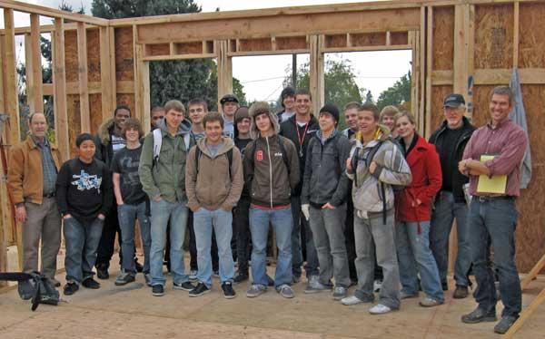McCulloch Construction site Field Trip