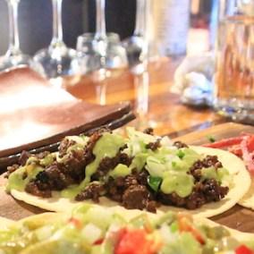 Taco-platter