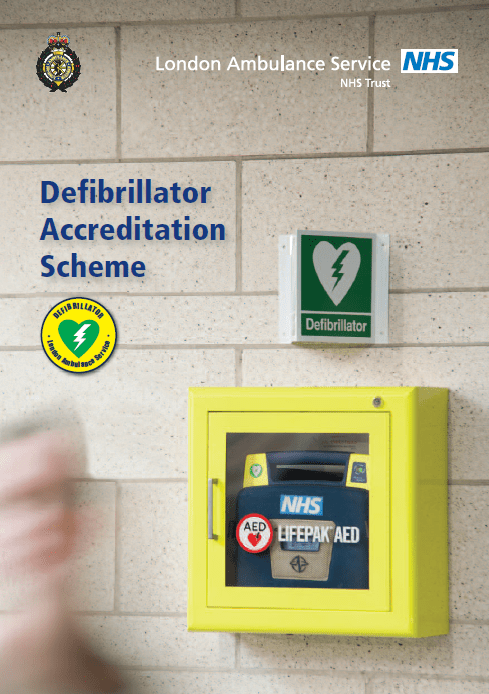 London Ambulance Service Defibrillator Accreditation Scheme