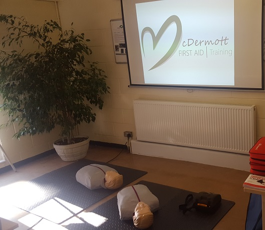 First Aid Course Training Room