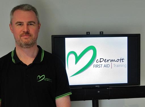 David McDermott, Owner of McDermott Aid Training