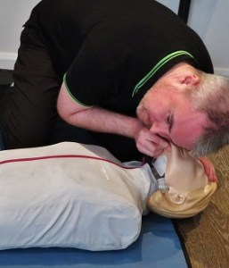 First Aid Breathing Check