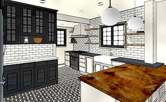 Making kitchen remodeling decisions