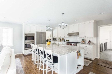 Coastal Inspired Kitchen & Living Room Remodel | McDonald Remodeling