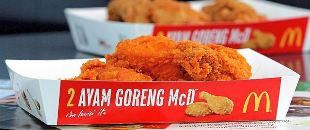 Image result for ayam goreng spicy mcd