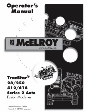 McElroy TracStar® 618 Fusion Machine
