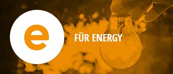 Unser Unternehmen - E für Energy
