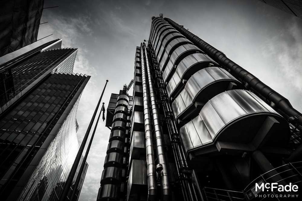 london city financial gherkin lloyds skyscrapers 111