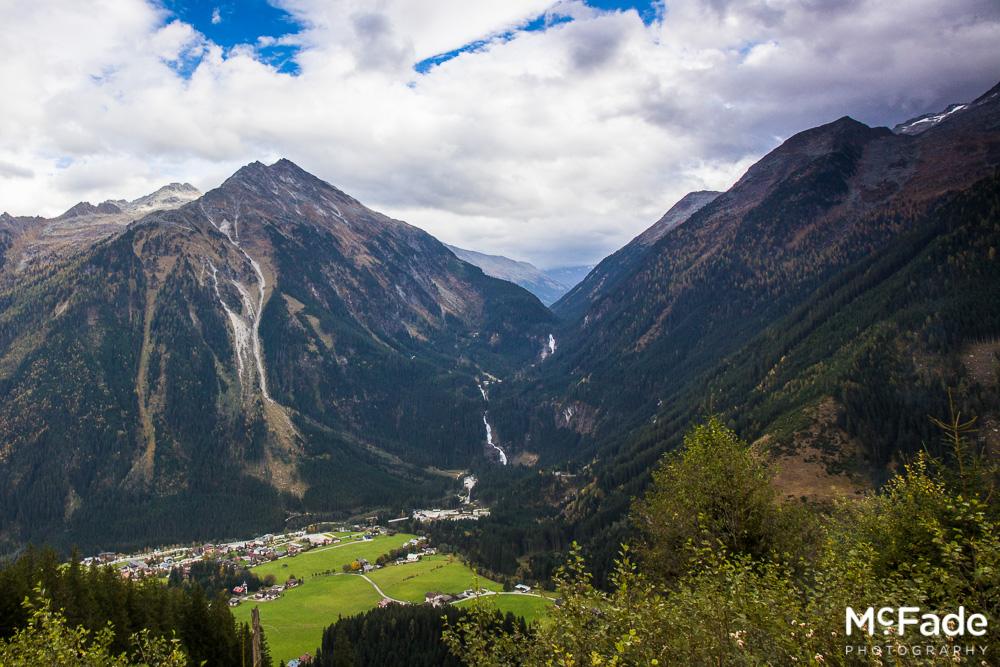 266 austria tirol krimler waterfall