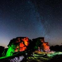 The Amazing Milky Way at Brimham Rocks