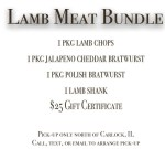 Crown Point Lamb Bundle