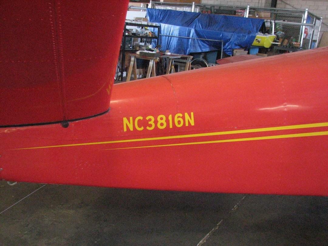 1947 BEECHCRAFT A35 BONANZA tail number