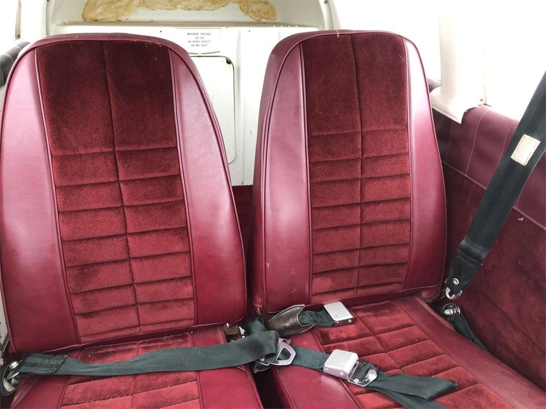 1973 PIPER ARROW II rear seating