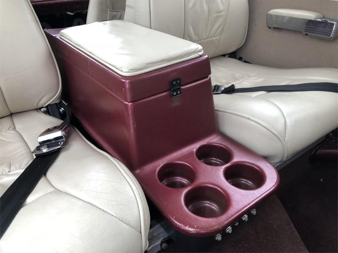 1979 PIPER SENECA II rear section cup holders