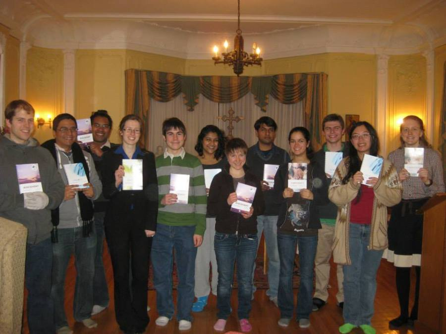 Winter 2014 faith study leaders (photo courtesy of Holly Garnett)