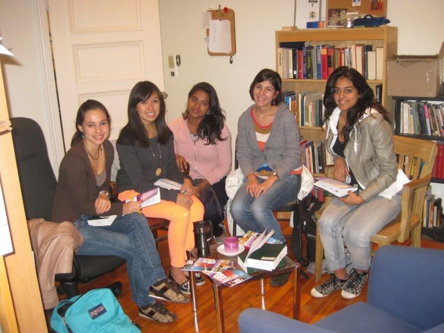 Stephanie's Faith Study Group, Fall 2012.