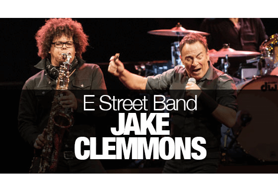 Jake Clemmons – the new star of the E Street Band