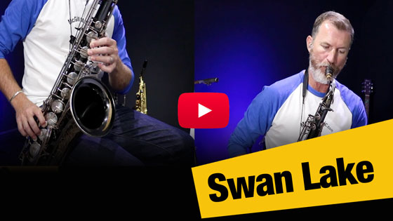 Swan Lake – Beautiful melody for alto and tenor sax