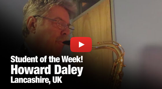 Howard Daley – Student of the Week!