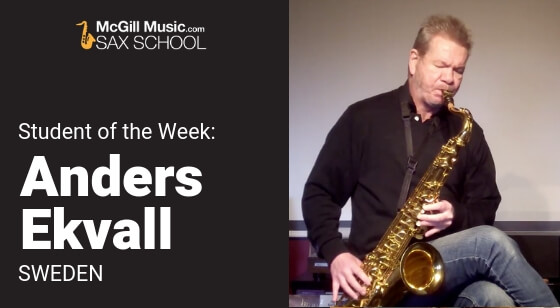 Anders Ekvall – Student of the Week!