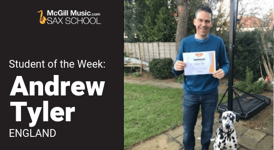 Andrew Tyler – Student of the Week