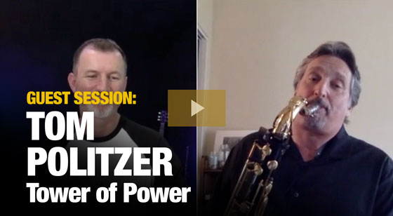 Tom Politzer from Tower of Power!