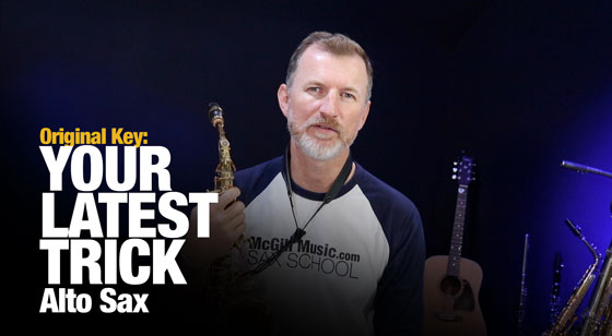 Learn Your Latest Trick on Alto Sax (Dire Straits)