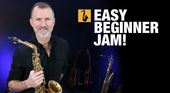 Easy Saxophone Jam Lesson for Absolute Beginners!
