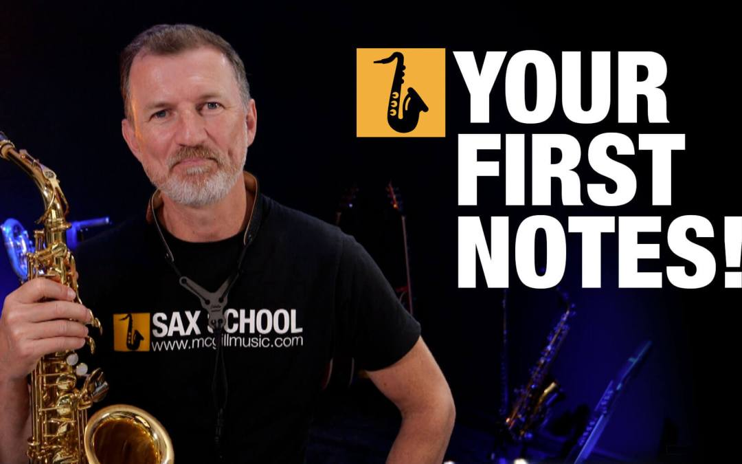 Beginner Saxophone – Your First Notes