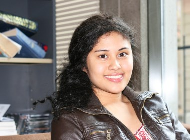 Joy Lizette Aguilar (Alexandra Allaire / McGill Tribune)