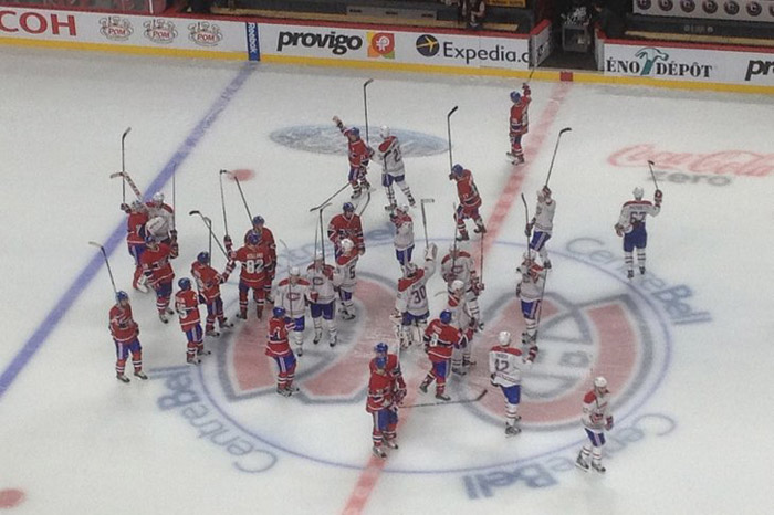 Montreal Canadiens intra-squad scrimmage