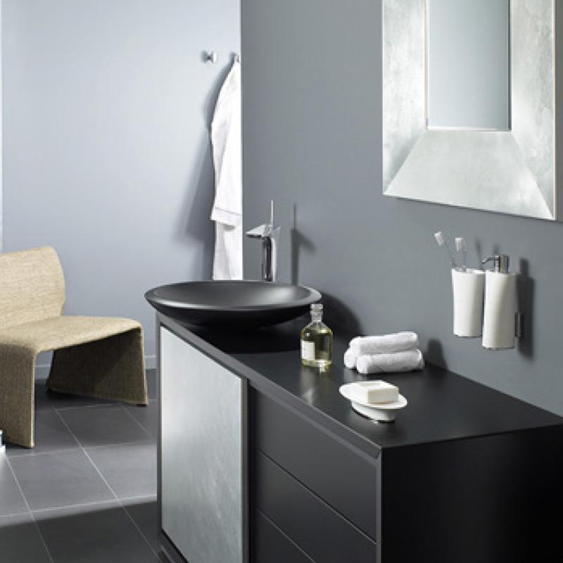 accessoires de salle de bain design et