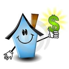 cartoon-house-holding-money-thumb4681975