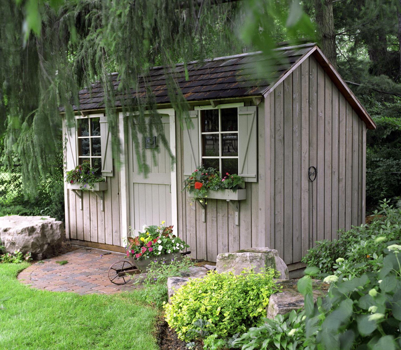 Backyard Garden Sheds