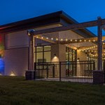 Restaurant Outdoor Patio String Lighting Ideas Omaha Nebraska