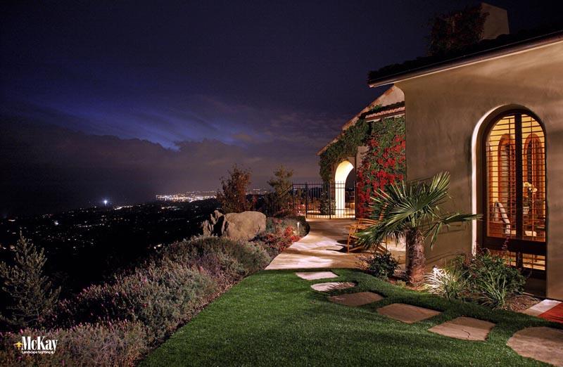 residential landscape lighting mckay