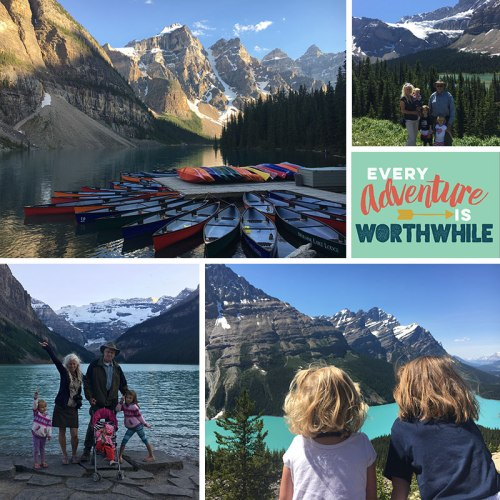 We got to take our Grandkids on a trip to Canada