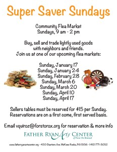 super saver sundays community flea market