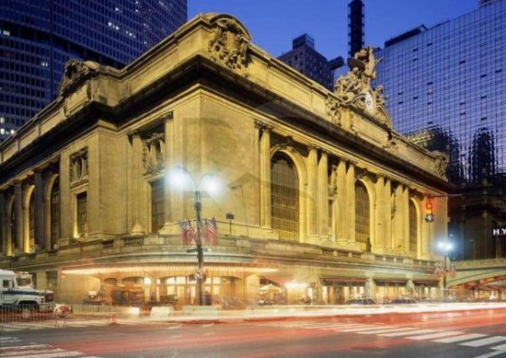 Robison produced the lower terracotta work on Grand Central Station in NYC.