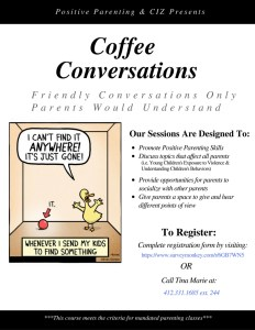 Coffee Conversations Flyer