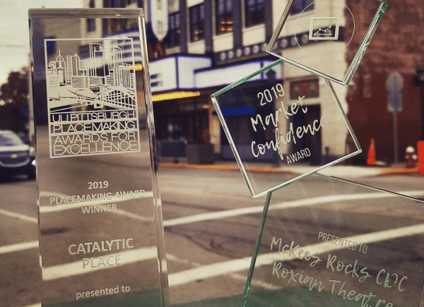 'Market Confidence' award rounds out month filled with recognitions for MRCDC/Roxian Theatre