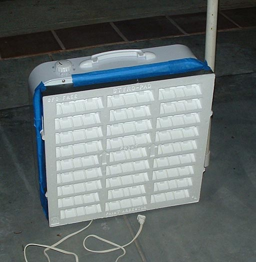For The Output I Ran 3 More Fans With Foam Paint Arresters Were Not As Powerful Intake So Had A Good Amount Of Positive