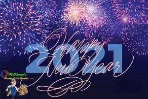 McKeowns 2021 Happy New Year